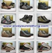 Louis Vuitton/Chanel/Gucci/Coach/Nike boots handbags wallets clothing