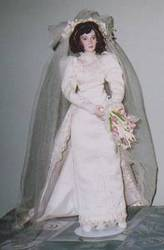 Wedding Dolls/Bridal Doll/Cindy McClure Collection/Kathleen