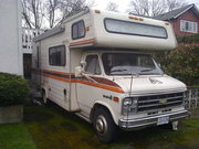 1979 Chev Glendale 22' - New awning,  toilet,  kitchen taps (2010) - Tra
