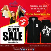 Promotional offers on Jackets by Graffix Promotionls