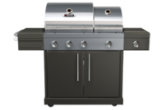 Bbqtek Grill For 63 000 BTU Double Lid Natural Gas Grill