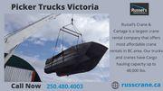 Affordable Crane Rentals BC | Victoria Cranes | Russel's Crane