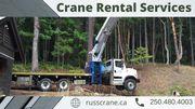 Crane Rental Vancouver | Boom Truck Rental Cost