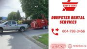 Bin Rental Hope | Dumpster Rental Services Hope | Red E Bins