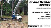 Crane Rental Services Victoria BC | Picker Trucks Victoria