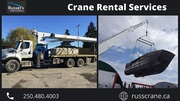 Crane And Lifting Services | Russel'sCrane & Cartage