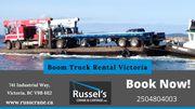 Boom Truck Services | Russel Crane & Cartage